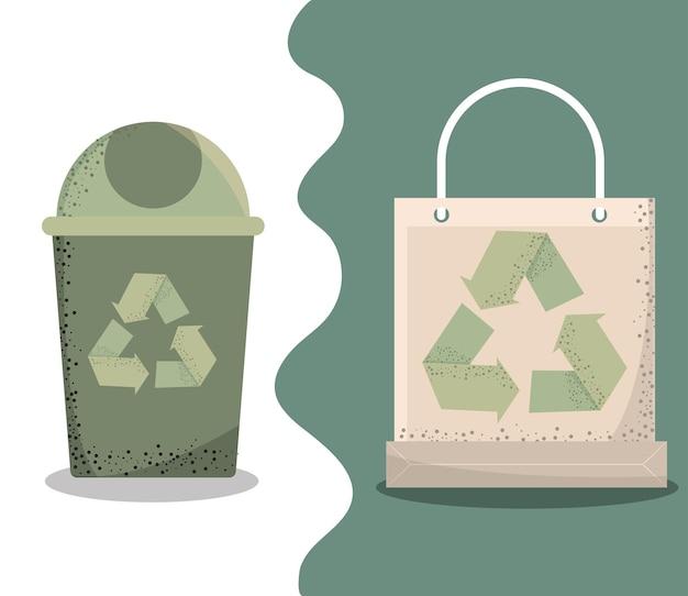Umweltfreundliche und nachhaltige designs