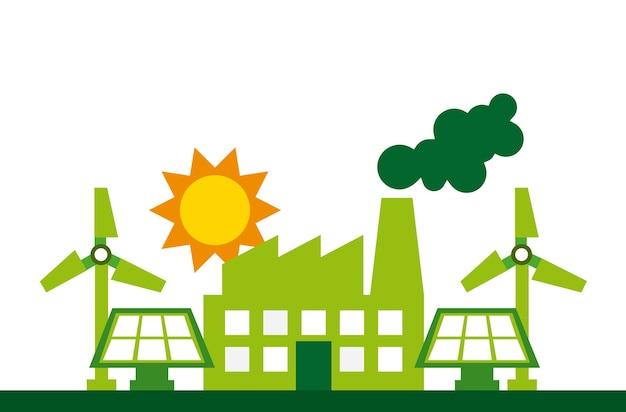 Umweltfreundliches design