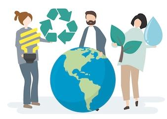 Umweltschutz und Schutz unserer Welt