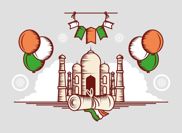Unabhängigkeitsfest indiens