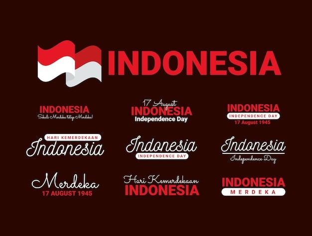 Unabhängigkeitssätze für indonesien