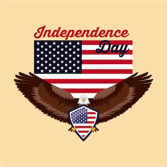Unabhängigkeitstag amerika