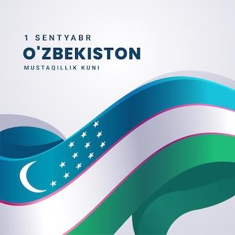 Unabhängigkeitstag der usbekistan-feier