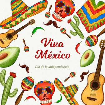 Unabhängigkeitstag des mexikanischen ereignisses