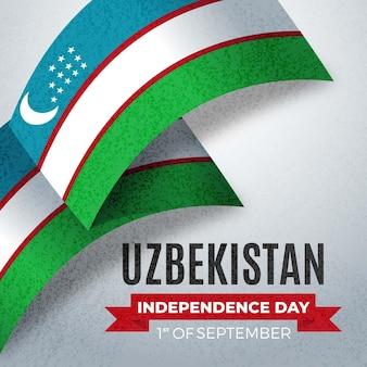 Unabhängigkeitstag des usbekistan-konzepts
