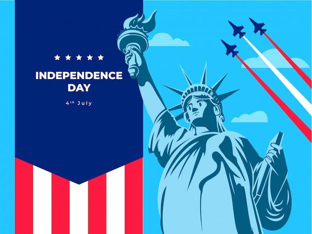 Unabhängigkeitstag freiheit