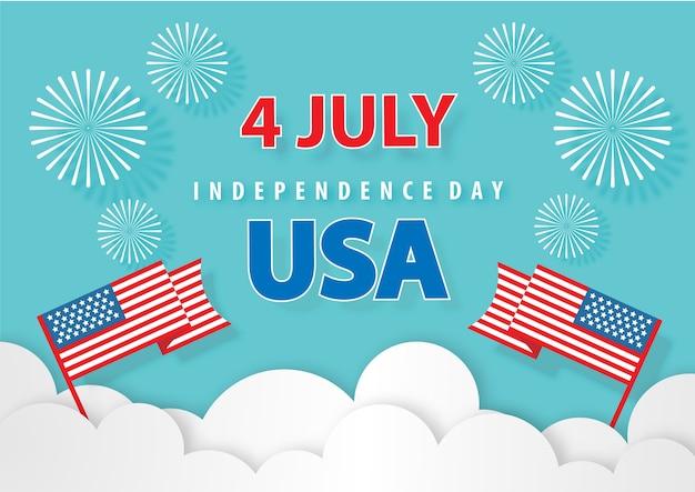 Unabhängigkeitstag hintergrund