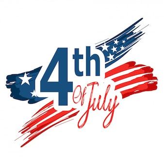 Unabhängigkeitstag in den vereinigten staaten von amerika.