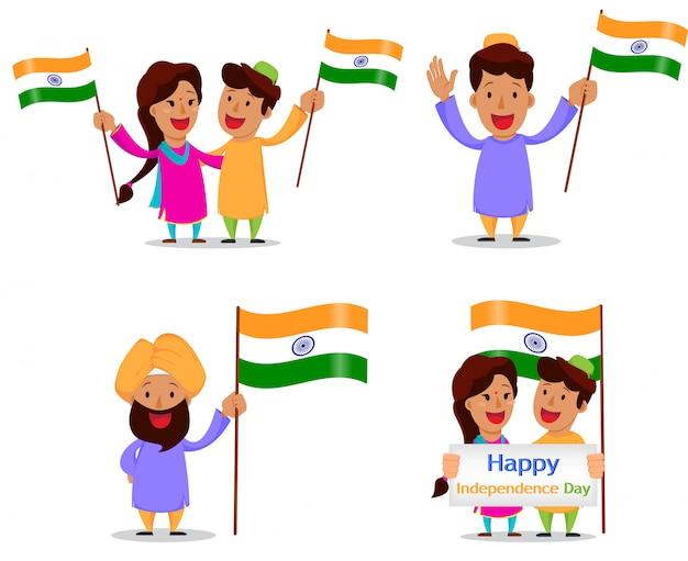 Unabhängigkeitstag in indien