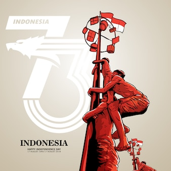 Unabhängigkeitstag indonesiens