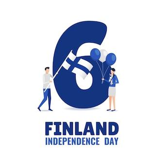 Unabhängigkeitstag von finnland