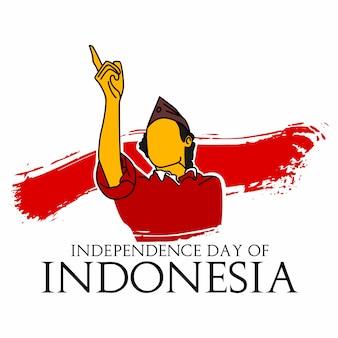 Unabhängigkeitstag von indonesien