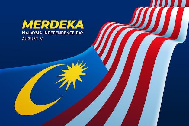 Unabhängigkeitstag von malaysia