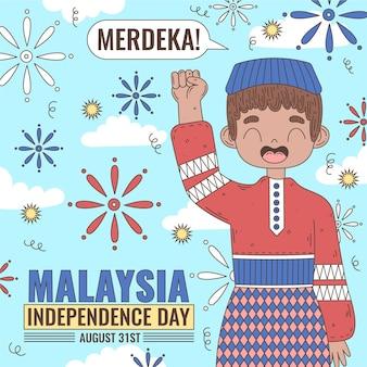 Unabhängigkeitstag von merdeka malaysia