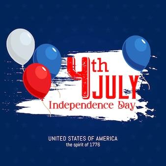 Unabhängigkeitstagfeier unabhängigkeitstags von den vereinigten staaten