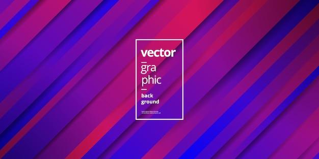 Unbedeutender purpurroter violetter geometrischer hintergrund