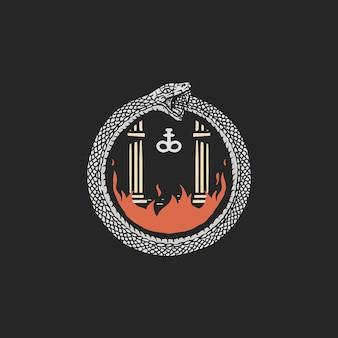Unendliche hölle ouroboros
