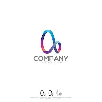 Unendlichkeits-logo colorfull