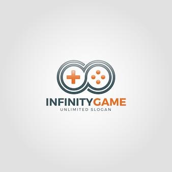 Unendlichkeitsspiel logo vorlage