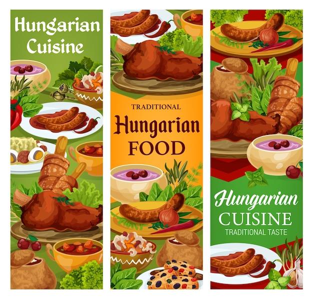 Ungarische küche, ungarische würstchen mit scharfer sauce und zwiebeln
