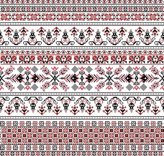 Ungarisches pixelmuster