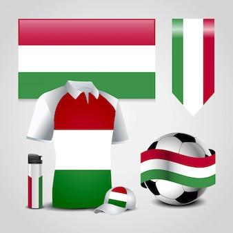 Ungarn landesflagge