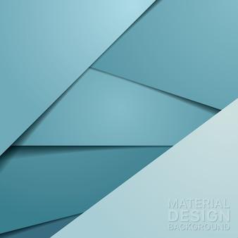 Ungewöhnlicher moderner materialdesign-hintergrund
