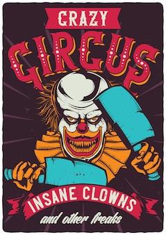 Unheimlicher clown