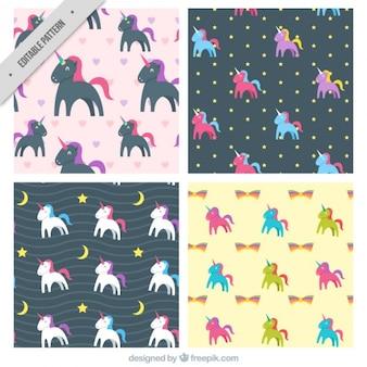 Unicorns mustersammlung
