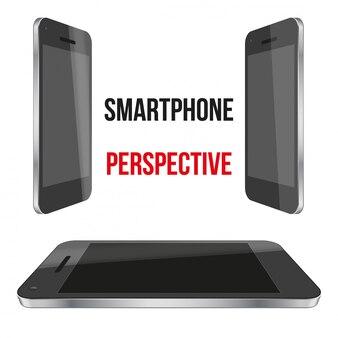 Unpersönliche smartphone-perspektive realistisch.