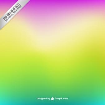Unscharfen hintergrund in fluoreszierenden farben