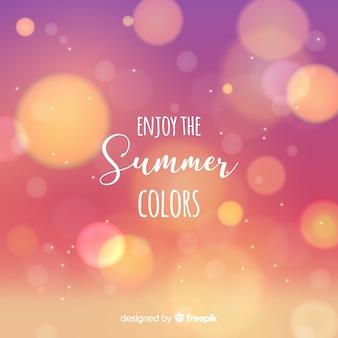 Unscharfer hallo sommerhintergrund