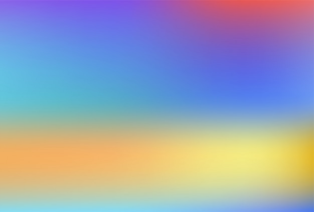 Unscharfer hintergrund mit farbverlaufsnetz in weichen regenbogenfarben.