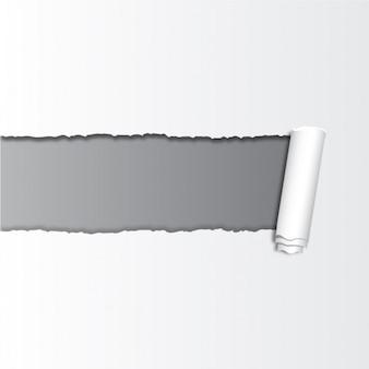 Unterbrochene papierhintergrund