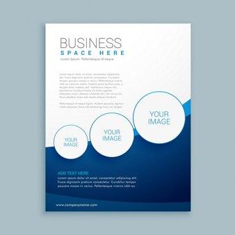 Unternehmen business-broschüre-design