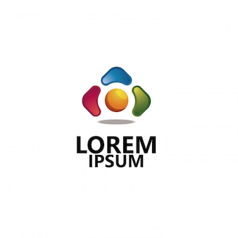 Unternehmen logo 3d