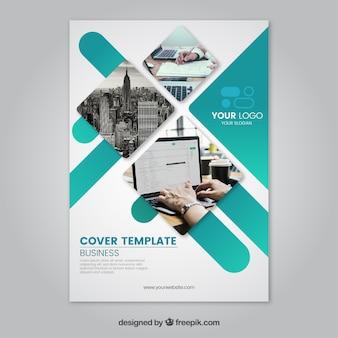 Unternehmens broschüren vorlage