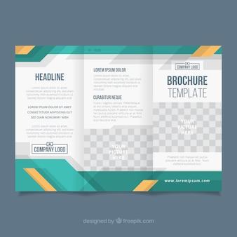 Unternehmens-trifold-business-broschüre
