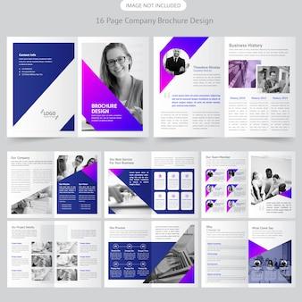 Unternehmensbroschüre design