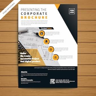 Unternehmensbroschüre / flyer vorlage