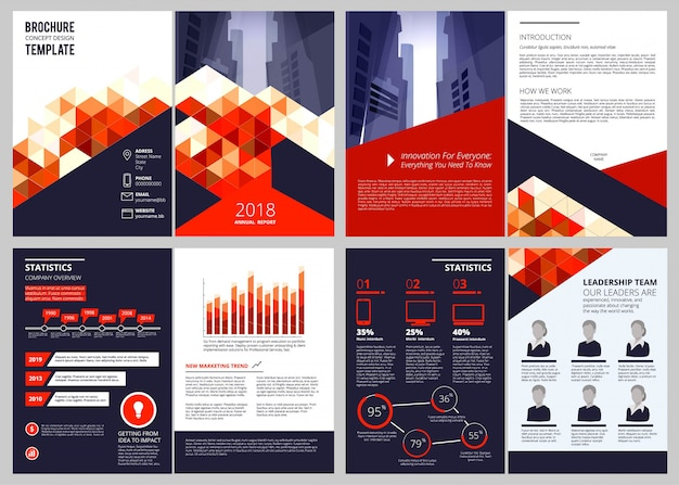 Unternehmensbroschüre, geschäftsbericht corporate documents magazin oder katalog titelseiten