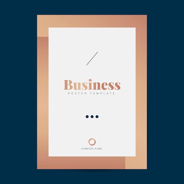 Unternehmensbroschüre und plakatvorlage
