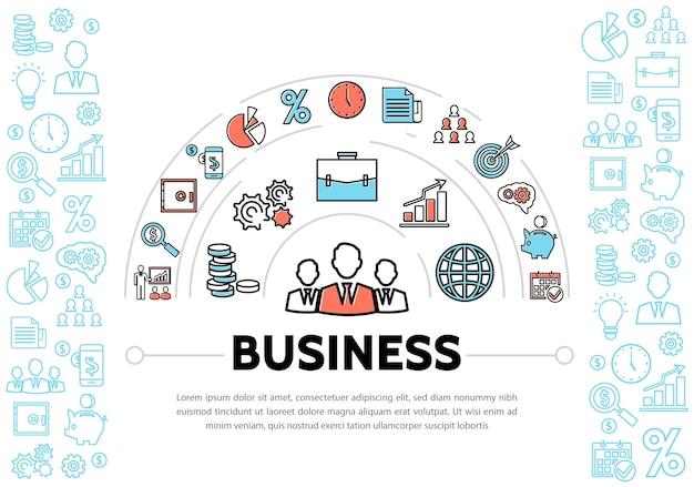 Unternehmensführung und finanzelemente
