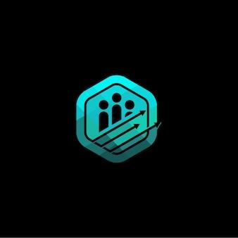 Unternehmensgruppe iconic logo