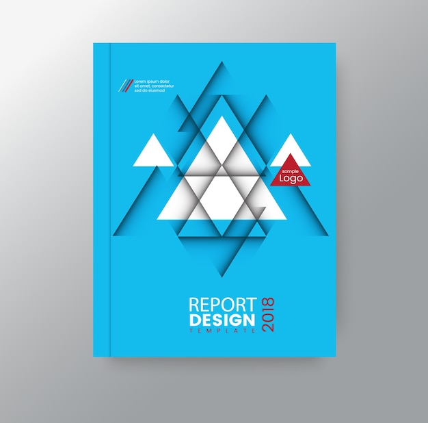 Unternehmenshintergrund des abstrakten geometrischen dreieckigen polygons