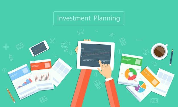 Unternehmensinvestitionsplanung auf gerätetechnologie