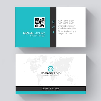 Unternehmenskartenvorlage