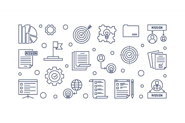 Unternehmensvision und mission statements