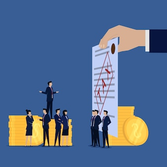 Unternehmer beschweren sich über steuerzahlung.