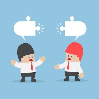 Unternehmer haben unterschiedliche meinungen